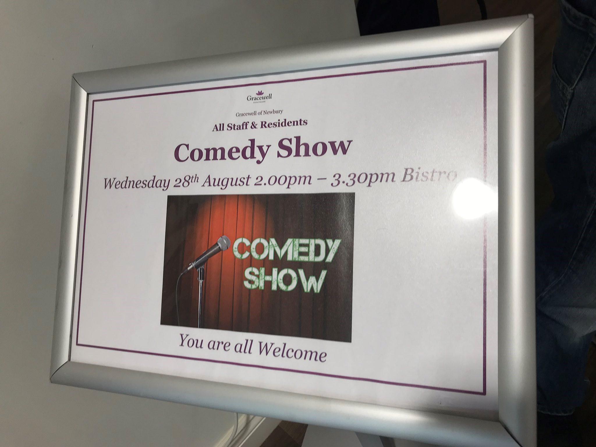 Gracewell Comedy Sign